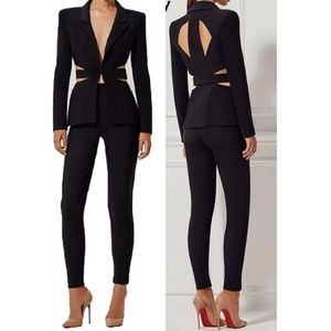 Jackets & Blazers - Cut out blazer. Jr and plus sizes